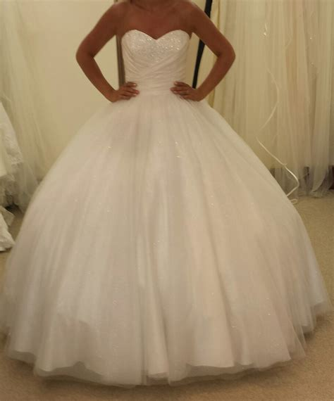 Poofy Wedding Dresses by My Big Poofy Alfred Angelo Cinderella 205 Wedding Dress