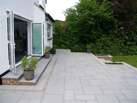 How To Build A Concrete Block House by Saxon Textured Garden Paving Marshalls Co Uk
