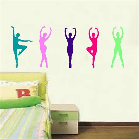 wall stickers teenage bedrooms 5 ballet dancer graphics vinyl wall decals girls bedroom