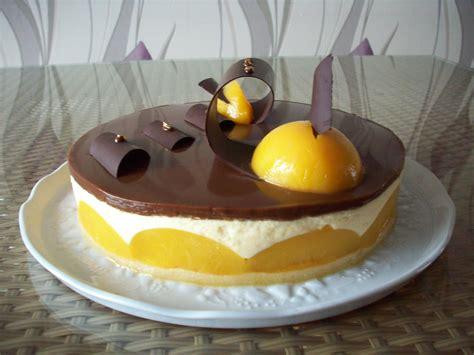 entremet aux p 234 ches gla 231 age caramel recettes de desserts plus de 1000 recettes sur