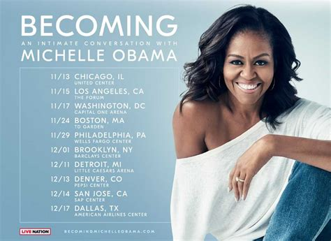 michelle obama chicago tickets michelle obama announces 10 city book tour for candid