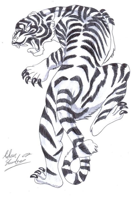 simple tiger tattoo designs 20 best japanese tiger drawings images on