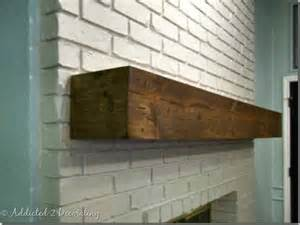 diy fireplace cover up this only looks old here s a diy project that can cover an existing ugly fireplace mantel with
