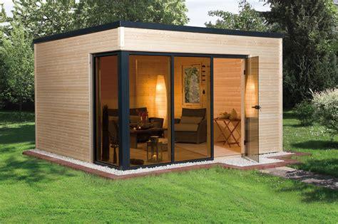 Gartenhaus Edingershops De weka design gartenhaus cubilis natur 386x306cm bei