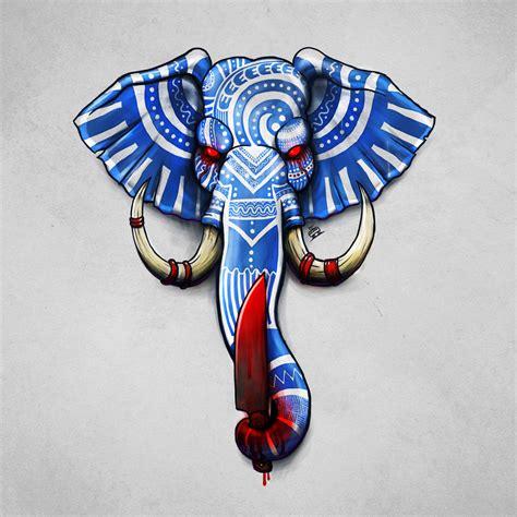 Tattoo Flash Elephants | elephant tattoo flash by tramvaev on deviantart