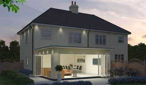 Contemporary Style House Plans contemporary extensions budget conservatories