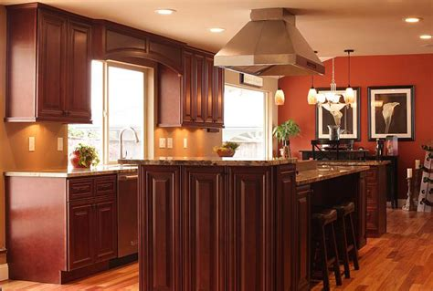 mahogany maple kitchen cabinet cream city cabinets