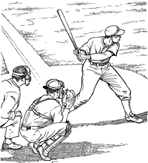 baseball catcher coloring pages gianfreda net 555527
