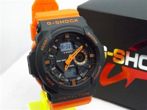 Digitec Ga150 Original by G Shock Ga 150 Orange Jual Jam Tangan G Shock Ga150 Orange