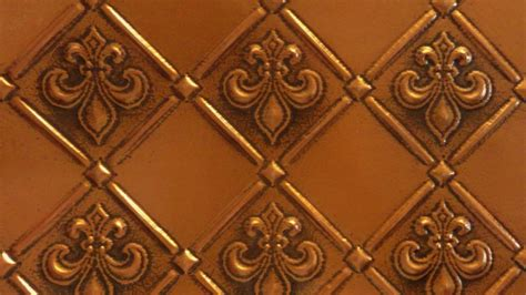 faux tin pvc backsplash roll wall covering wc80