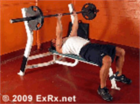 exrx close grip bench barbell close grip bench press