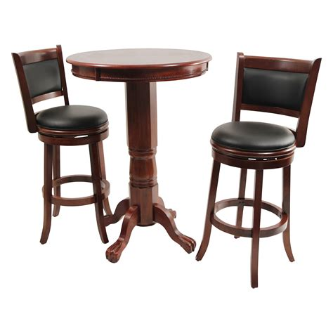 Pub Table And Chairs 3 Piece Set   Marceladick.com