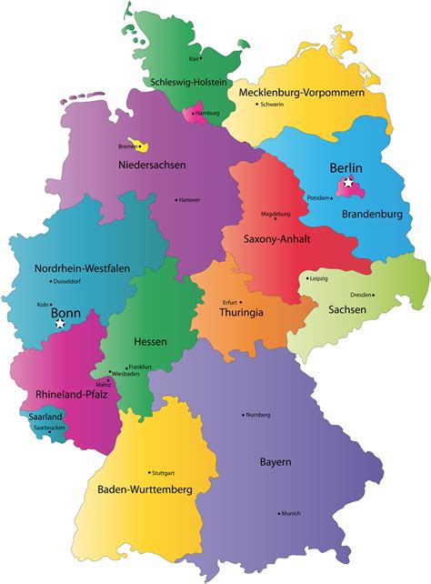 germany state map germany tourism germany map berlin hotels