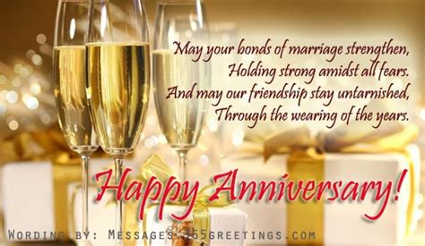 Wedding Anniversary Images For Friends by Anniversary Messages For Friends 365greetings