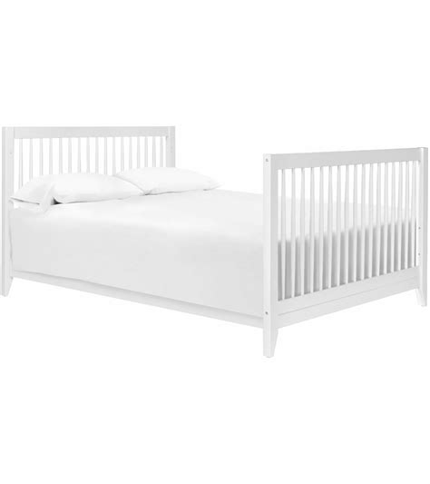 Babyletto Sprout 4 In 1 Convertible Crib With Toddler Bed White 4 In 1 Convertible Crib