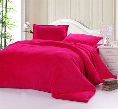 bright pink comforter king bright pink 6 piece satin feel bed linen king