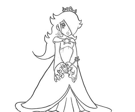 princess rosalina coloring pages free coloring pages of rosalina mario