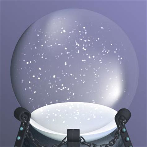 dragon in a snow globe make it snow