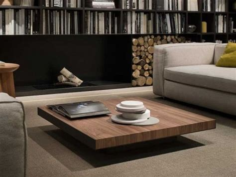 low square coffee table wooden low square solid wood coffee table deck by lema design