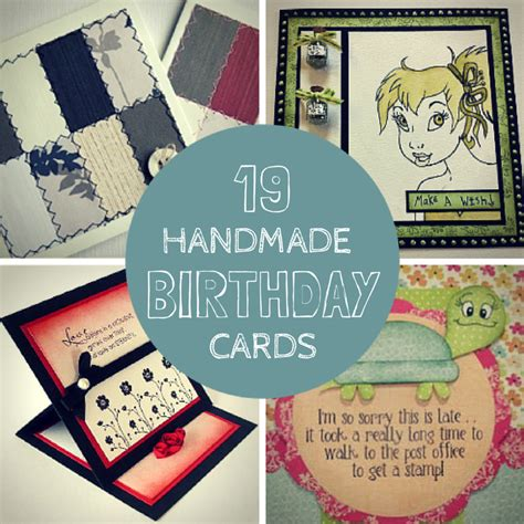 Craft Paper And Card - 19 handmade birthday cards craft paper scissors