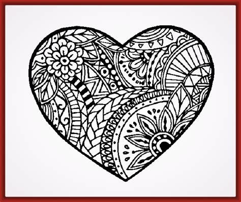 imagenes de corazones dibujos imagenes de corazones para pintar e imprimir fotos de