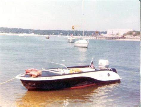 used boats van island at age 17 robert purchased a 17 foot sportscraft with a 70