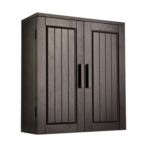 elegant home fashions wall cabinet shop elegant home fashions catalina 20 in w x 22 5 in h x