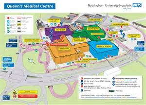 qmc floor plan wayfinding maps nottingham university hospitals nhs trust