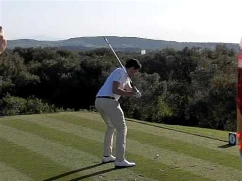 swing in spanish video michael lorenzo vera golf swing slow motion