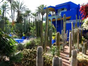 yves laurent s jardin majorelle in marrakesh