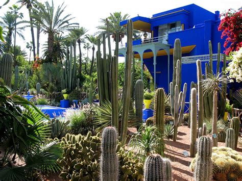 garten yves laurent marrakech yves laurent s jardin majorelle in marrakesh