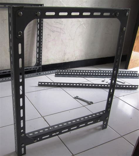 Membuat Rak Dari Besi Siku Lubang sinau bareng secara membuat rak untuk toko