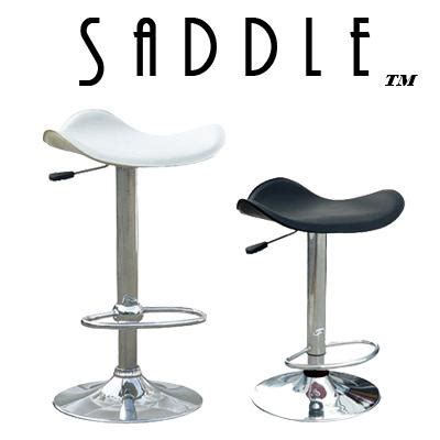 Faux Leather Saddle Bar Stools by Saddle Faux Leather Single Contemporary Adjustable Bar Stool