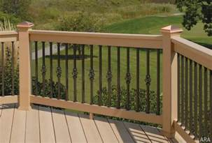 decor tips wrought iron porch railing for deck railing