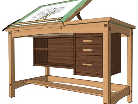 Free Drafting Table Plans Pin By Olga Volobueva On Workplace Pinterest Desk Plans Drafting Desk And Drawing Desk