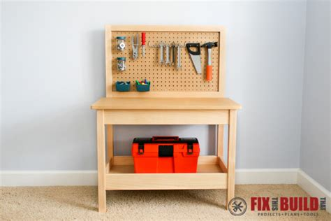 diy kids work bench how to make a diy kids workbench fixthisbuildthat