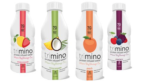 protein 20 infused water trimino protein infused water beats water everyday