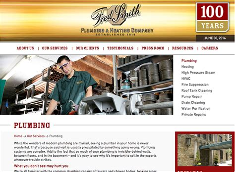 Fred Smith Plumbing by Fredsmith2 Chrein An Experienced Creative Web