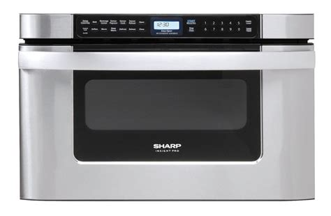 Microwave Oven Sharp R212zs kb 6524psy microwave 24 inch easy open microwave drawer