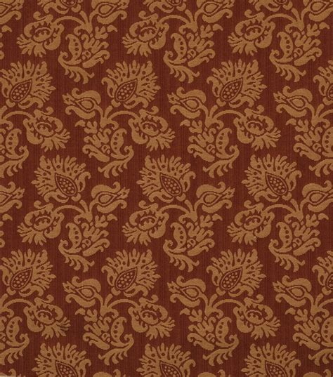 jaclyn smith upholstery fabric upholstery fabric jaclyn smith planter crimson jo ann