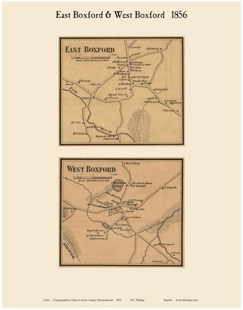 the history of boxford essex county massachusetts from the earliest settlement known to the present time a period of about two hundred and thirty years classic reprint books town maps