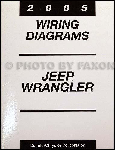 2005 jeep wrangler repair shop manual cd rom