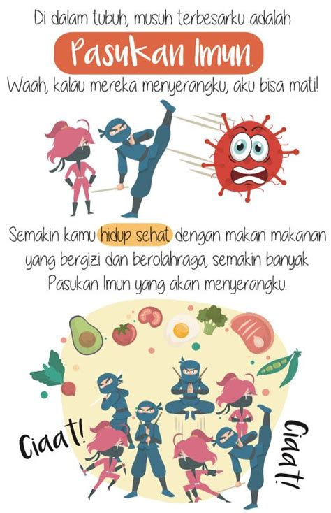 gambar poster edukasi cegah covid   virus corona