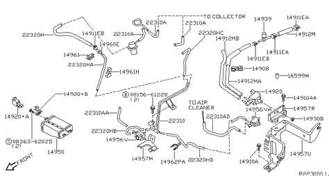 2001 nissan frontier vacuum diagram wiring diagram gw