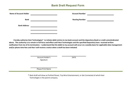 bank draft template bank draft form collection related keywords bank draft