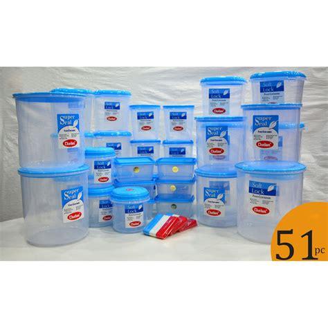 kitchen plastic storage buy chetan set of 51 pcs plastic airtight kitchen storage