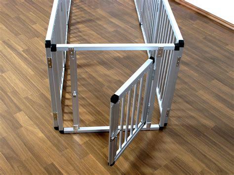 überdachung Aus Aluminium by Welpenauslauf Aus 8 Aluminium Segmenten Spielgehege Welpen