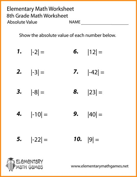 Free Printable Pre Algebra Worksheets With Answers by 8 8th Grade Algebra Problems Media Resumed