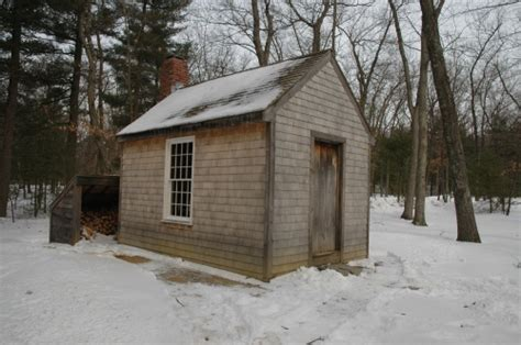 Walden Pond Thoreau Cabin by Walden Pond And Thoreau Cabin Poets And Writers