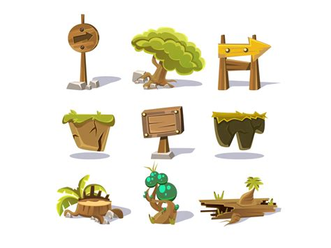 game design elements in vector from stock 2 game design elements in vector from stock 10 25 eps